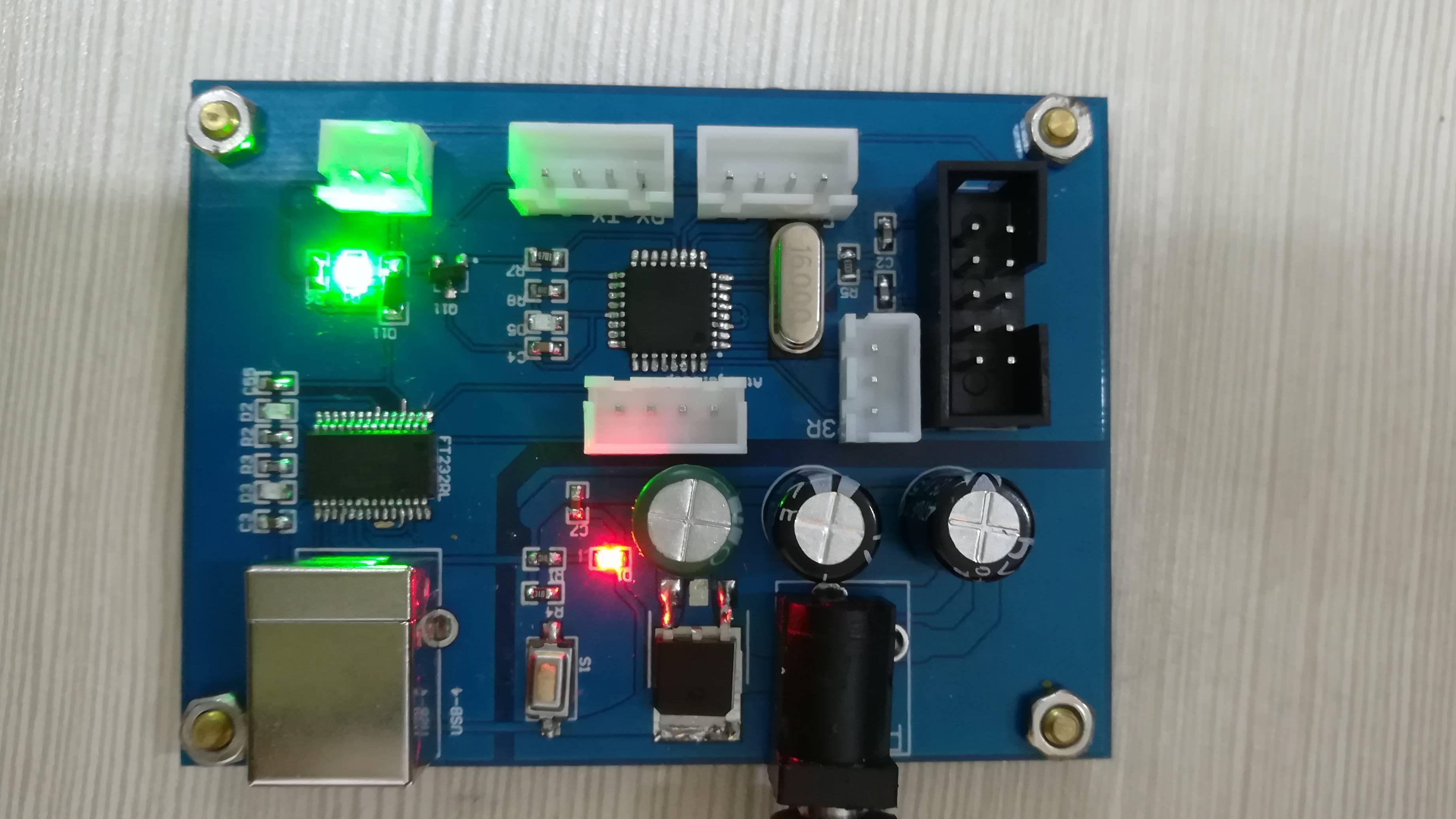Arduino最小系统板设计PCB板及原理图