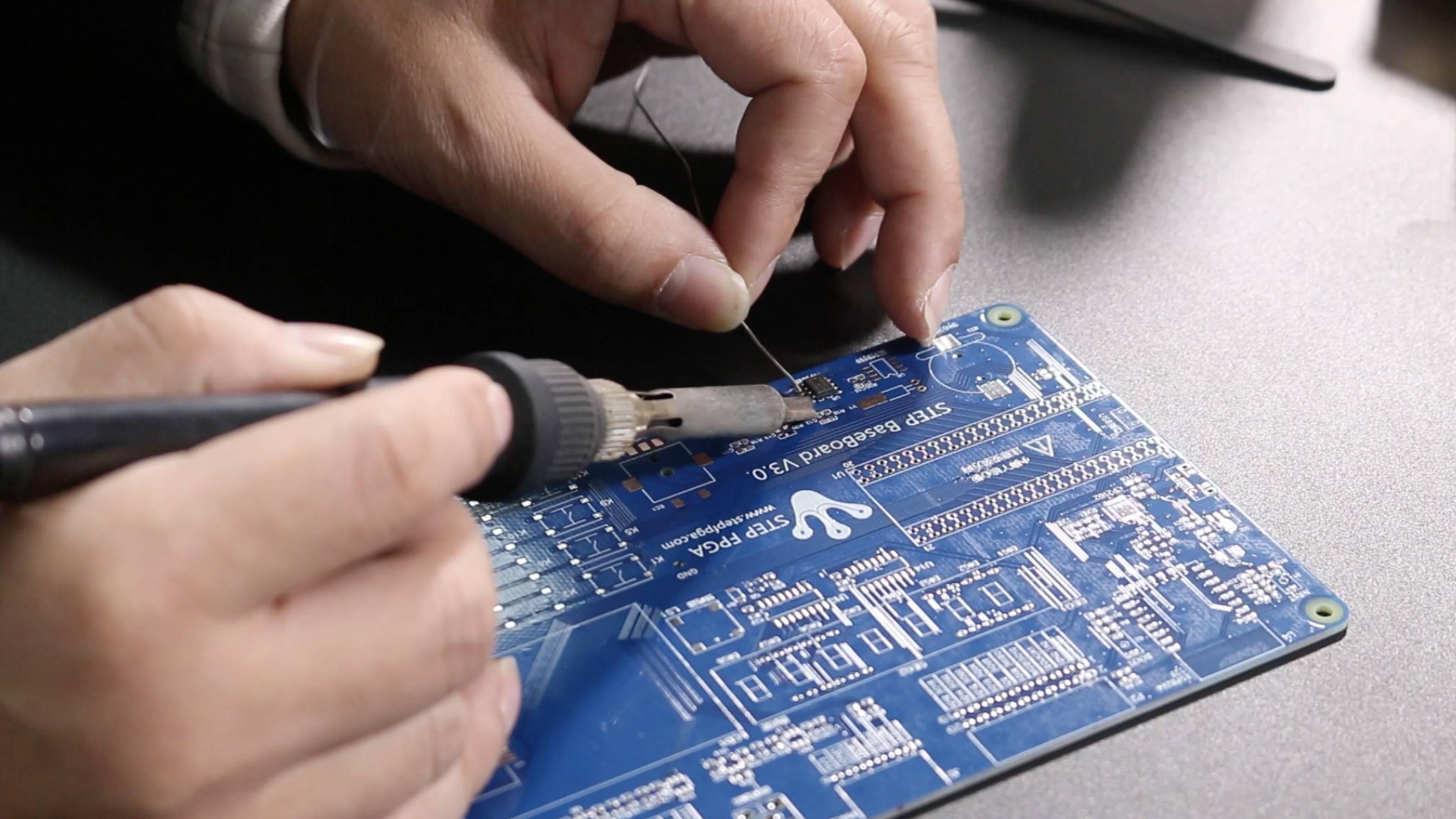 电路板手工焊接技巧