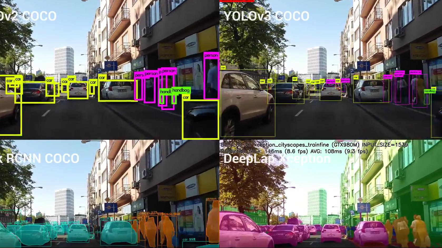 深度学习计算机视觉演示