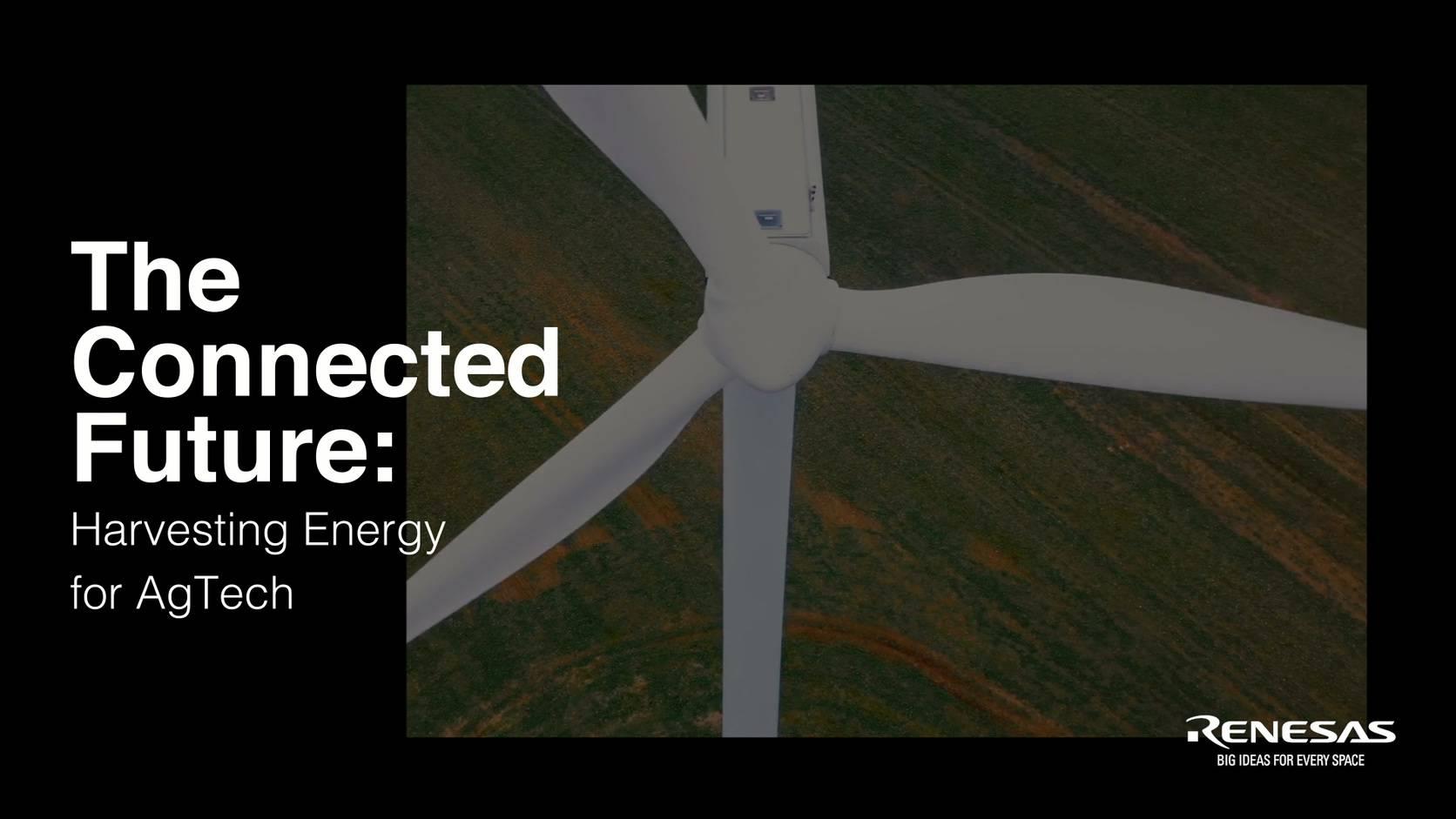 物联网的未来:为AgTech采集能源