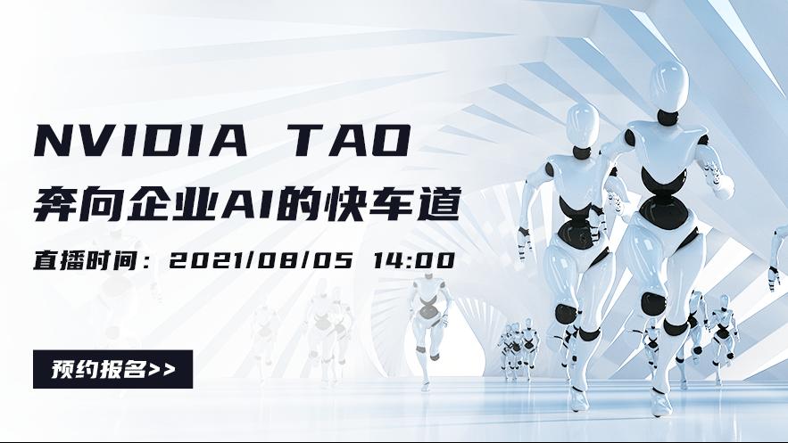 NVIDIA TAO - 奔向 企业 AI 的快车道