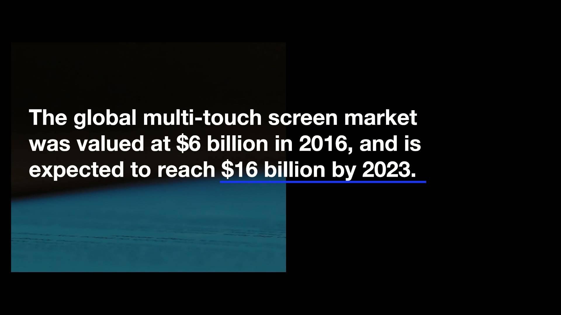 在消费电子产品设计中利用触摸屏技术