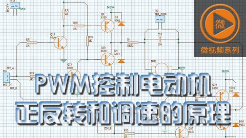 PWM控制电动机正反转和调速的原理