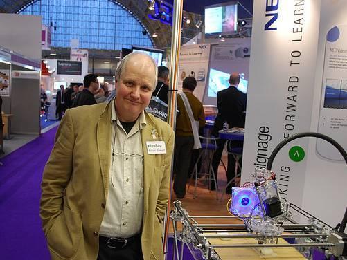 moore8活动海报-3D打印开源之父Adrian Bowyer博士手把手教你玩转3D打印机